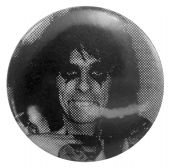 Alice Cooper - 'Alice Black & White' Button Badge